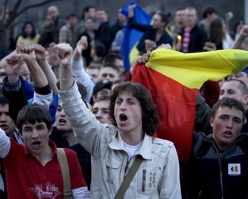 Moldova protesters